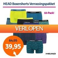 1dagactie.nl: 10 x HEAD boxershorts verrassingspakket