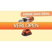 ActieVandeDag.nl 2: Black+Decker accu klopboormachine