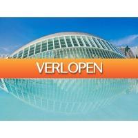 Traveldeal.nl: 3-, 4- of 5-daagse stedentrip Valencia