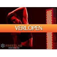 Tripper Tickets: Red Light Therapy behandeling bij Freezlab in Amsterdam