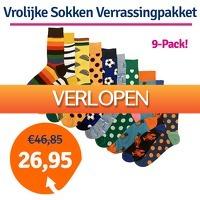 1dagactie.nl: Vrolijke Sokken verrassingspakket