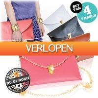 voorHAAR.nl: Set van 4 hippe clutches