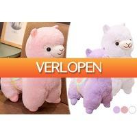 VoucherVandaag.nl 2: Alpaca plushie voor kinderen