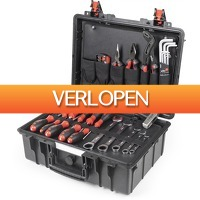 Gereedschapcentrum.nl: Wiha 44965 40-delige Industrial Gereedschapskoffer Basic set L