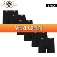 Elkedagietsleuks HomeandLive: 6-pack boxershorts van Cappuccino