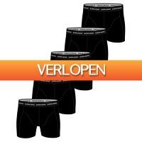 Plutosport offer: 5 x Bjorn Borg Essential boxershorts heren