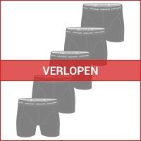 5 x Bjorn Borg Essential boxershorts heren