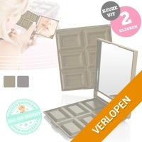Chocolade make-up spiegel