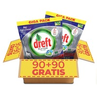 Bekijk de deal van Voordeelvanger.nl: Dreft vaatwastabletten Regular Of Citroen