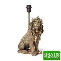 Bekijk de deal van Xenos.nl: Lampvoet leeuw