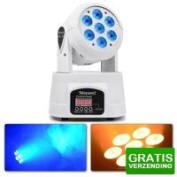 Bekijk de deal van MaxiAxi.com: BeamZ MHL74 Movinghead Wash met 7x 10W Quad LEDs