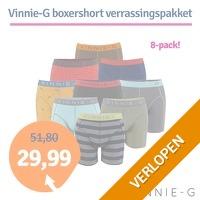 8 x Vinnie-G boxershorts