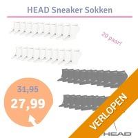 Head sneaker sokken 20-pack