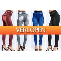 VoucherVandaag.nl: Denim legging dames