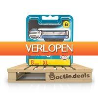 Actie.deals 3: Gillette Mach3 scheermesjes - 8 stuks