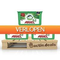 Actie.deals 2: Ariel 3-in-1 PODS Original 3x 35 stuks