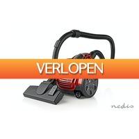 DealDonkey.com: Nedis stofzuiger - zakloos - 700 W - 1,5 L Inhoud - rood