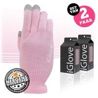 Bekijk de deal van voorHAAR.nl: 2 paar iGlove touchscreen handschoenen
