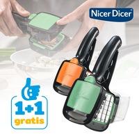 Bekijk de deal van Actie.deals: 2 x Nicer Dicer Quick snijapparaat