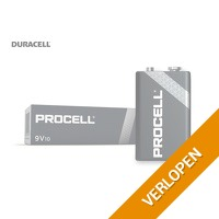 10 x Procell 9V batterijen