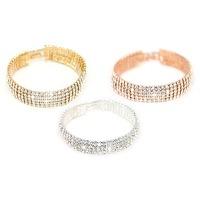 Bekijk de deal van Groupon 1: Armband met 5 rijen Swarovski-kristallen