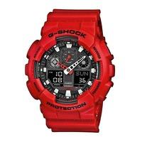 Bekijk de deal van Watch2Day.nl 2: Casio G-Shock GA-100B-4AER heren horloge 55mm