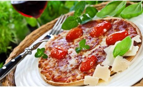 Groupon: Pizza of pasta naar keuze