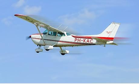 Groupon: Vliegen met een Cessna