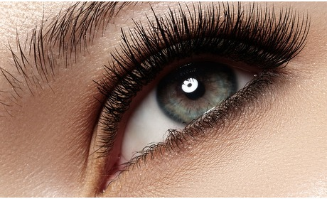 Groupon: Wimperextensions
