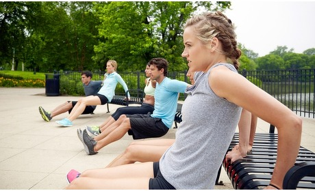 Groupon: Bootcamp in 14 parken
