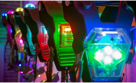 Groupon: Lasergamen bij De Kartfabrique