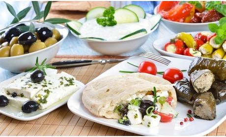Groupon: Onbeperkt Griekse tapas