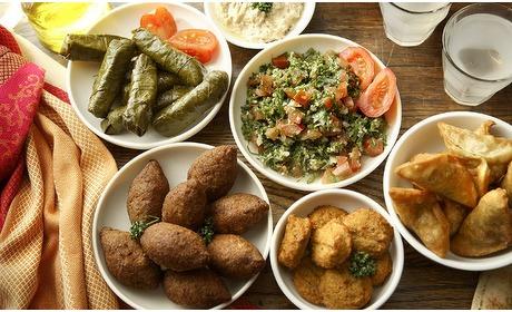 Groupon: Libanese proeverij