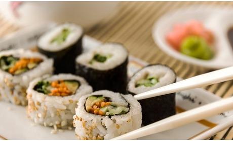 Groupon: Onbeperkt sushi en teppanyaki