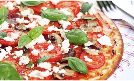 Groupon: Pizza naar keuze