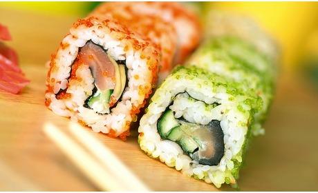Groupon: Utrecht: onbeperkt sushi