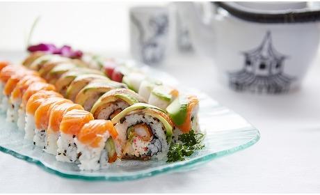 Groupon: Castricum: onbeperkt sushi