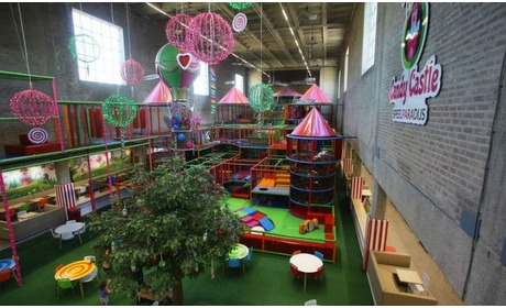 Groupon: Entree speelparadijs Candy Castle