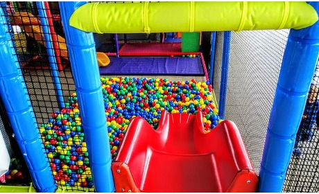 Groupon: Ticket soft play park en jumpen