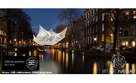 Wowdeal: Beleef het Amsterdam Light Festival vanaf een verwarmde salonboot