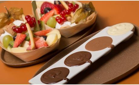 Groupon: Chocoladefondue Almere