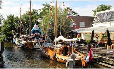 Groupon: Heeg: 1 tot 3 nachten aan de Friese wateren met ontbijt