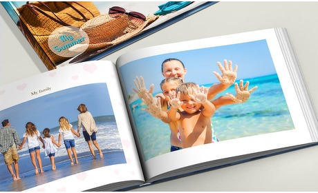 Groupon: Fotoalbum harde kaft in A4 of A5
