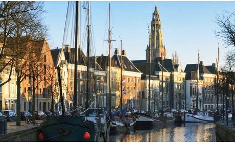Groupon: Groningen: in luxe overnachten vlakbij de Grote Markt