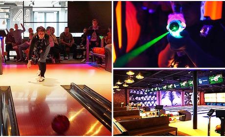 Social Deal: Bowlen (1 uur) + 1 of 2 spellen lasergame