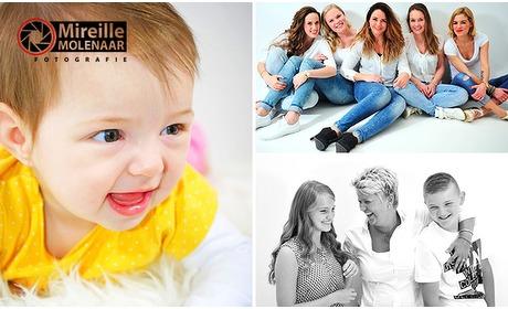 Social Deal: Fotoshoot voor max. 8 personen + digitale foto