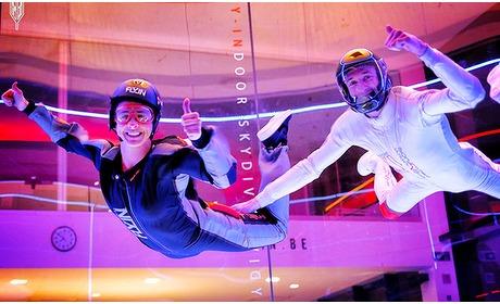 Social Deal: 2 sessies indoor skydiving + foto's en video's