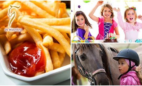 Social Deal: Kinderfeestje + friet + snack (2 uur)