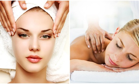 Social Deal: Massage + gezichtsbehandeling (60 min)