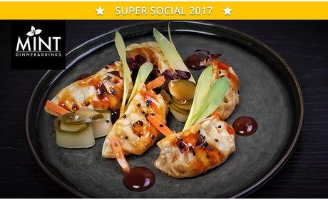 Social Deal: 3-gangendiner (23 keuzes) bij Mint Foodbar